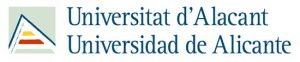 Logotype for the Universidad de Alicante
